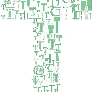 Font Fashion T by eldram