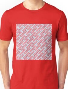 Frying Bacon Over Blue Unisex T-Shirt