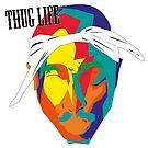 Tupac thug life by 2piu2design