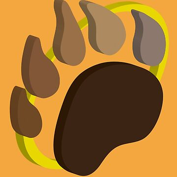Pawprint by grizzlygifts