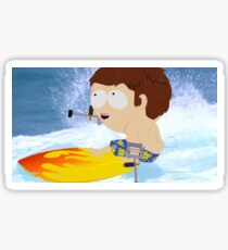 Jimmy Surf Sticker