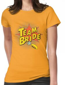 Popart Team Bride Womens Fitted T-Shirt
