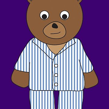 PJ Bear by grizzlygifts