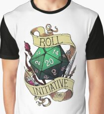 Roll Initiative Graphic T-Shirt