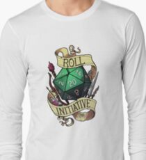 Roll Initiative Long Sleeve T-Shirt
