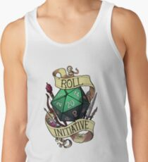 Roll Initiative Tank Top