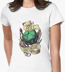 Roll Initiative Women's Fitted T-Shirt