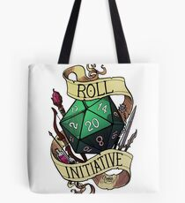 Roll Initiative Tote Bag