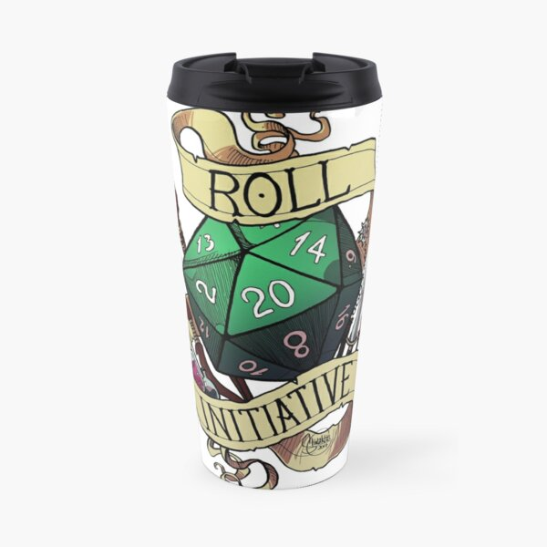 Roll Initiative Travel Mug