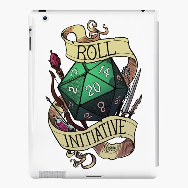 Roll Initiative iPad Snap Case