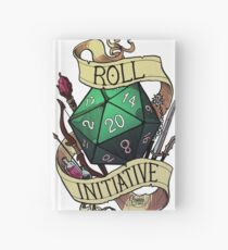 Roll Initiative Hardcover Journal