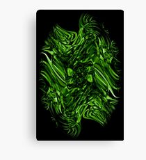 Recycled Smoke Art Design (4) Canvas Print