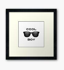 Cool Boy Framed Print