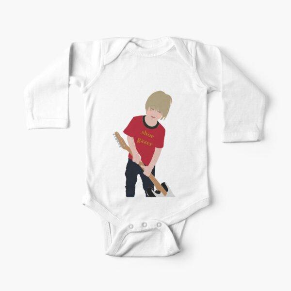 Shoe Gazer Long Sleeve Baby One-Piece