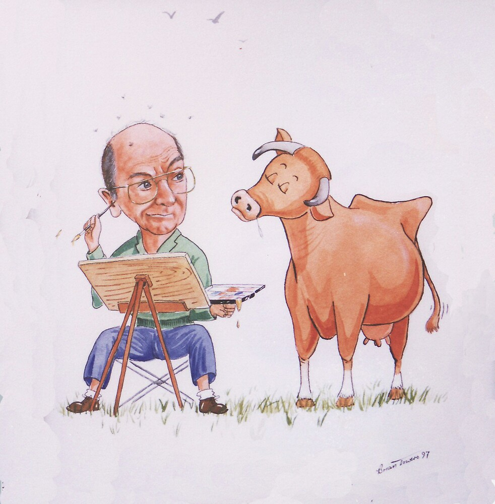 Opinionated cow! by Brian Towers