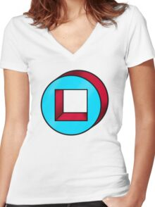 Chapter Two of Legion Women's Fitted V-Neck T-Shirt