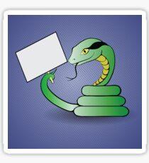 green snake Sticker