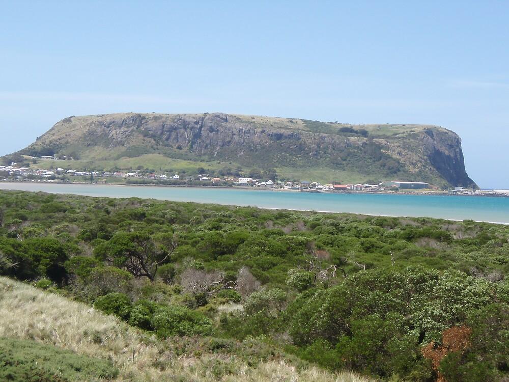 the Nut, Stanley, Tasmania by gaylene