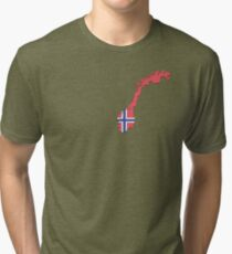 Norway Tri-blend T-Shirt