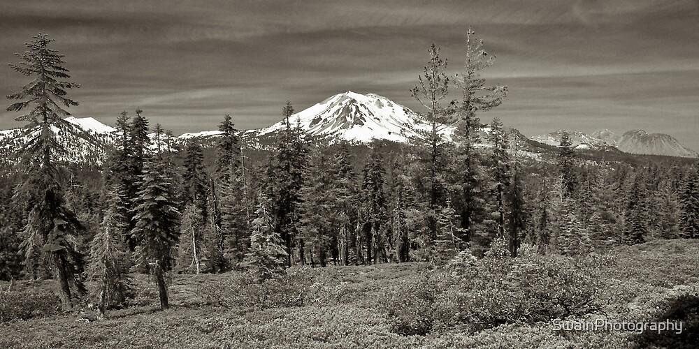 Reading Peak and Lassen Peak by SwainPhotography