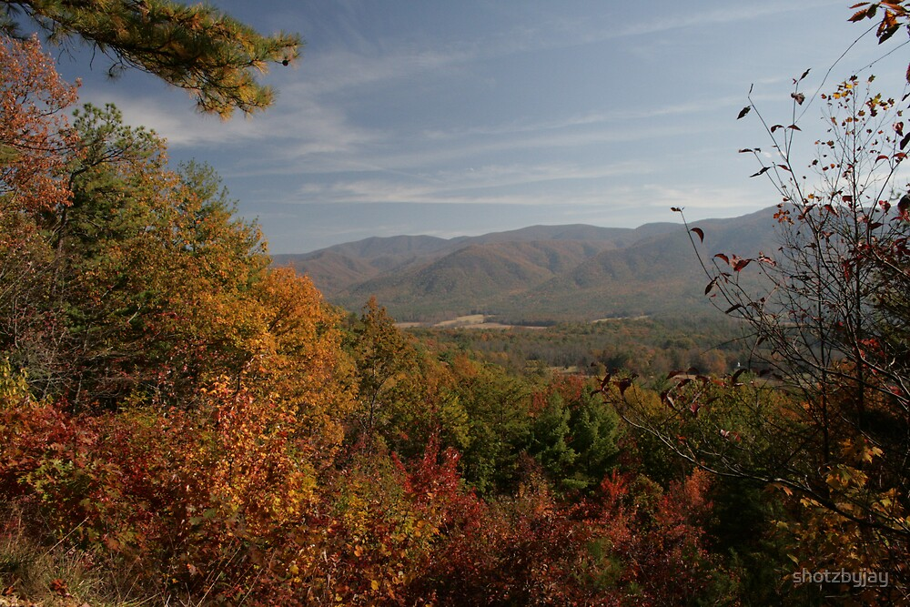 Cades Cove from Rich Mountain Road by shotzbyjay