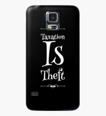Taxation Is Theft Case/Skin for Samsung Galaxy