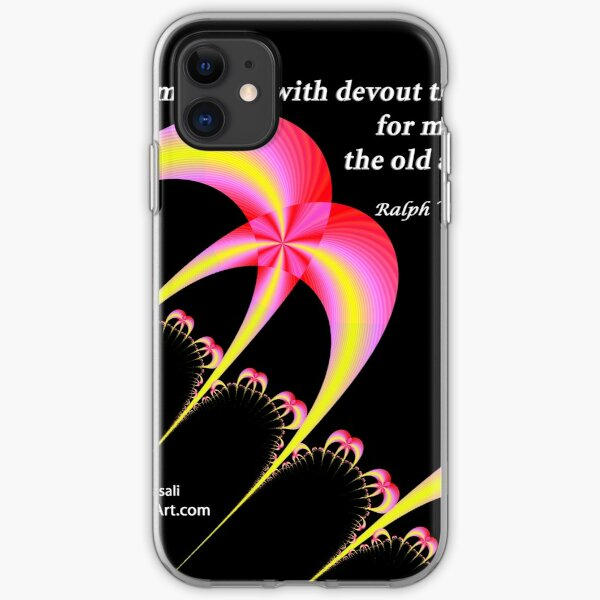 Devout Thanksgiving For My Friends iPhone Soft Case