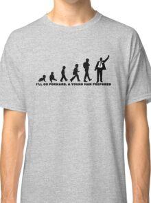 A Young Man Prepared (Black Words) - LDStreetwear Classic T-Shirt