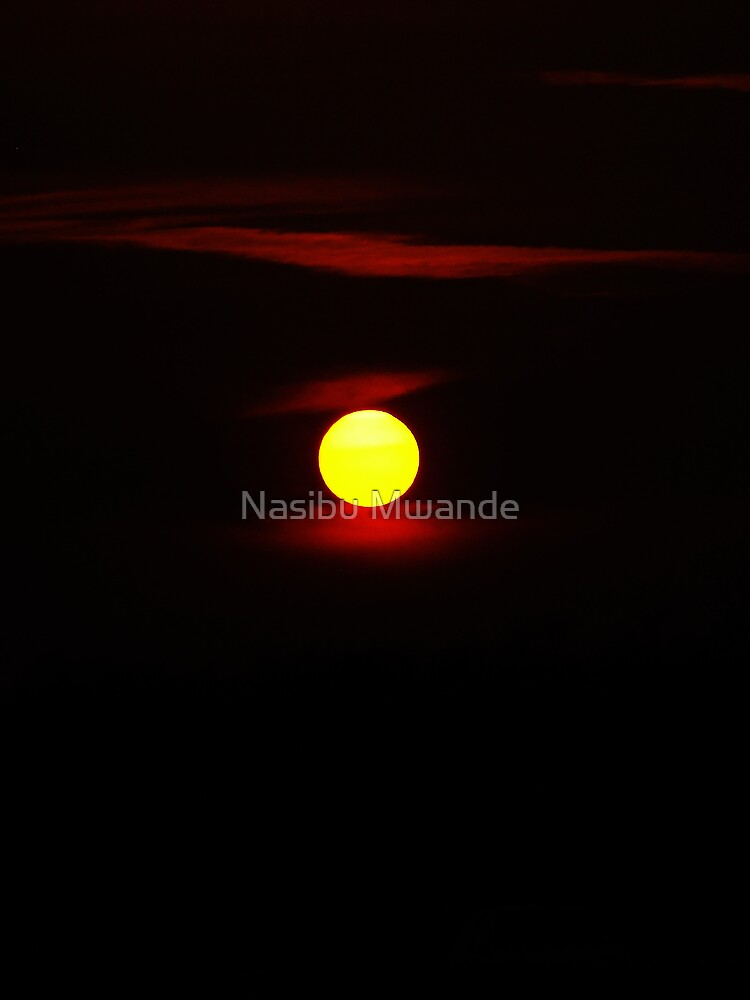 End of a golden day by Nasibu Mwande
