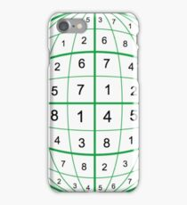 Didoku Orb Puzzle Solution iPhone Case/Skin