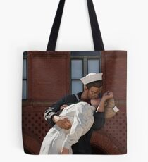 Key West Art - A Sailor's Kiss ©  Tote Bag