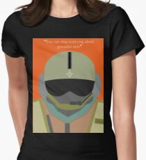 Jager Rainbow Six Seige  Womens Fitted T-Shirt