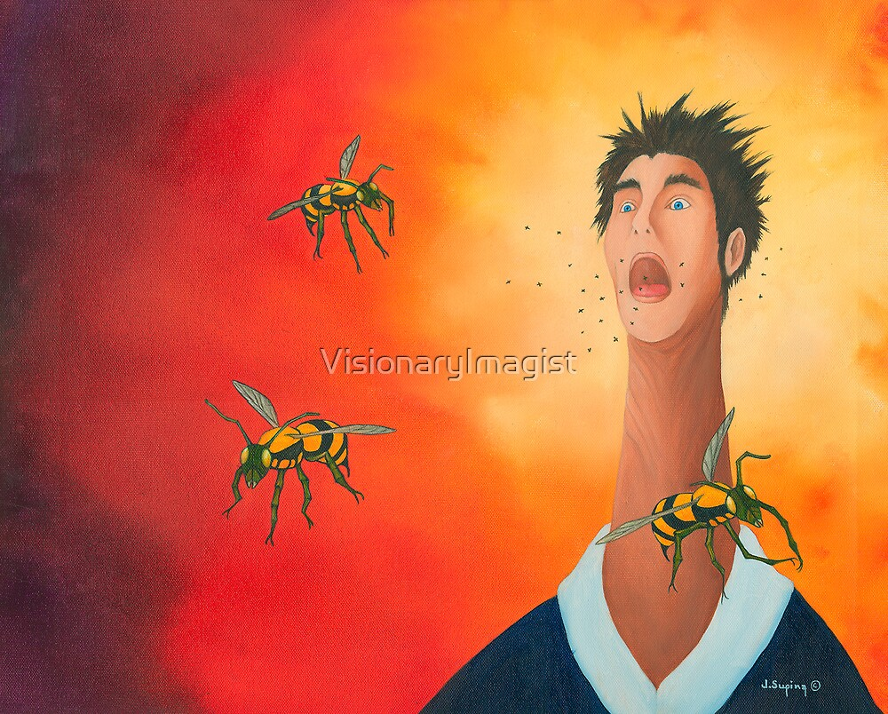 ALLERGIC REACTION by VisionaryImagist