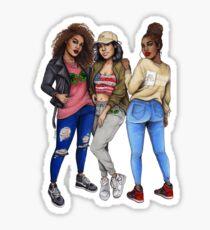 AABA Girls Sticker