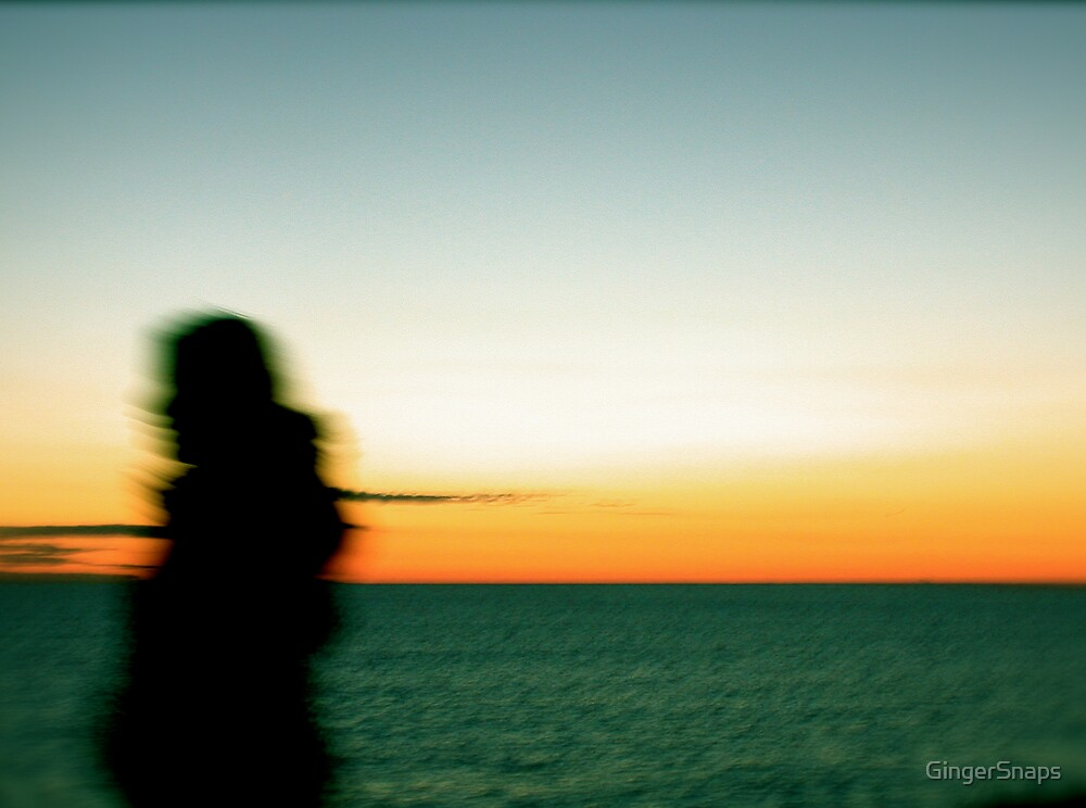 Sunset girl by GingerSnaps