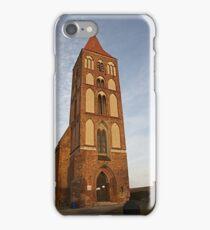 Gothic church in Chelmno Poland iPhone Case/Skin