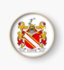 Cove Coat of Arms Clock
