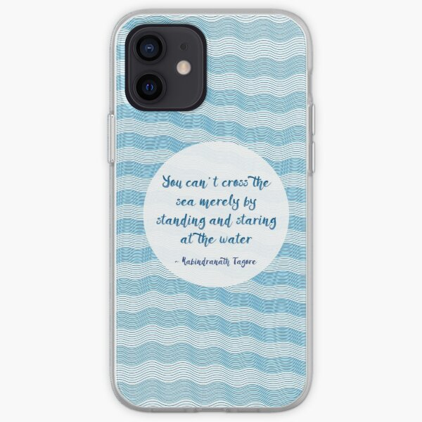 Tagore by the Sea iPhone Soft Case