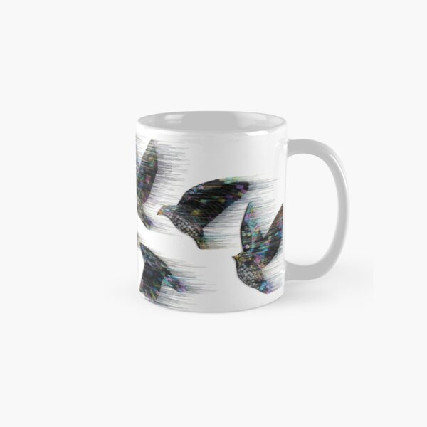 Starlings in the Wind Classic Mug