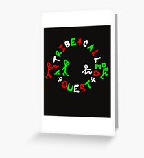 A Tribe Called Ques Greeting Card