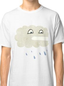 retro cartoon rain cloud Classic T-Shirt