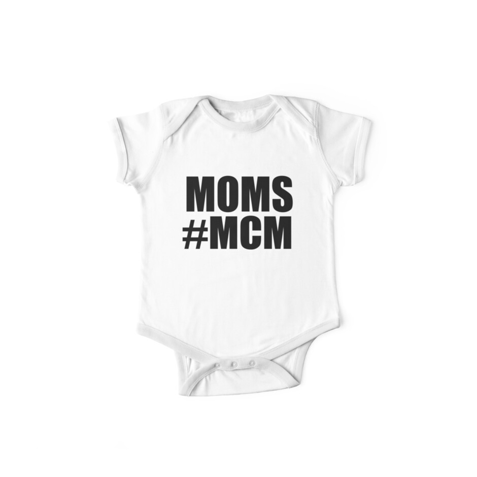 moms mcm one piece short sleeve by beggr redbubble. Black Bedroom Furniture Sets. Home Design Ideas