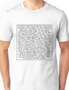 The National - All Songs Unisex T-Shirt