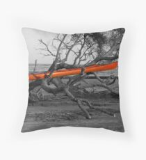 Yak Rak Throw Pillow