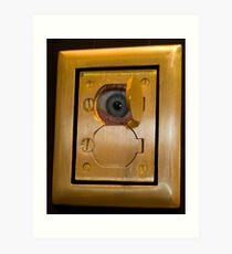 Electric Eye Art Print