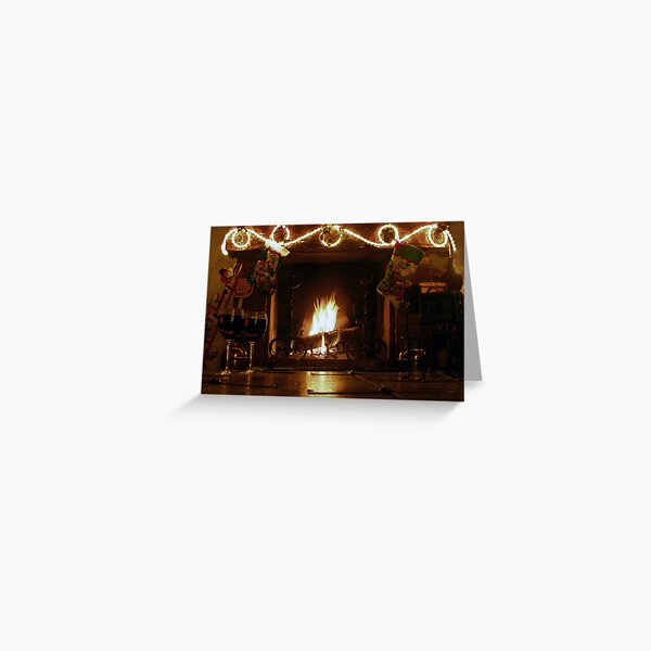 Christmas warmth Greeting Card