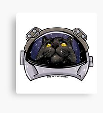 Kitty Cat Cosmos Canvas Print