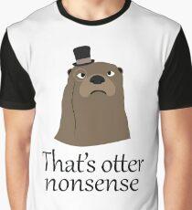 Otter Nonsense Graphic T-Shirt