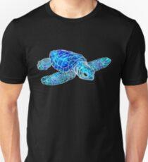 Sea Turtle Watercolor Art Unisex T-Shirt