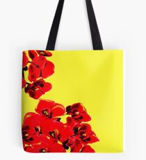 Sunshine Poppies Tote Bag